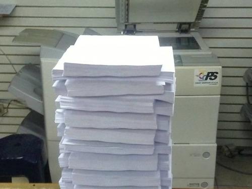 impresiones y copias, fotocopias, al mejor precio alto volum
