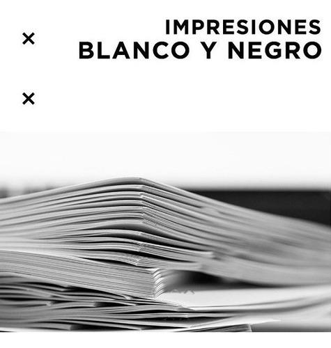 impresiones y fotocopias b&n