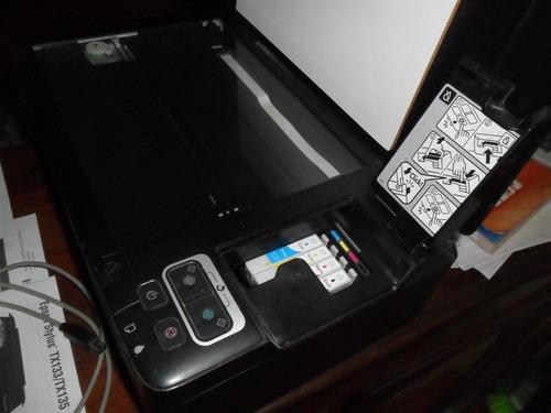 impreso epson stylus tx 135 computacion cartucho tinta