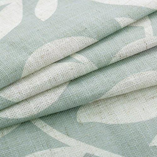 impreso jardín floral cortinas de cocina
