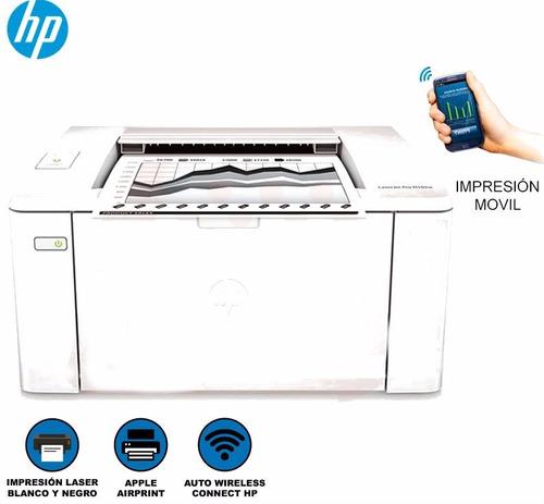 impresor hp laserjet pro m102w - envio e instalacion gratis