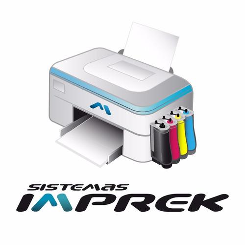 impresora 2135 hp escaner copia con sistema continuo imprek