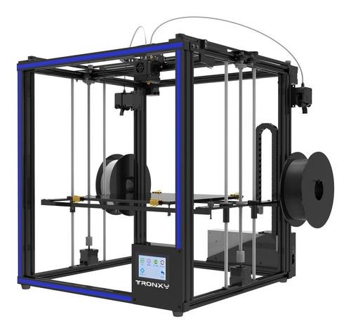 impresora 3d aluminio lcd tactil tronxy doble extrusor 33x40