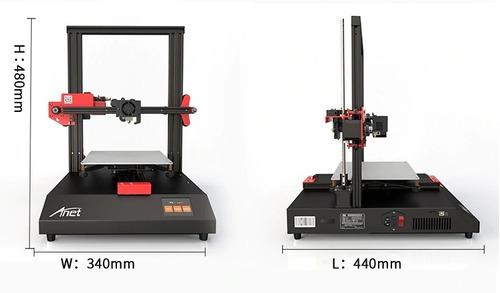 impresora 3d anet et4 nivel automatico cama caliente touch