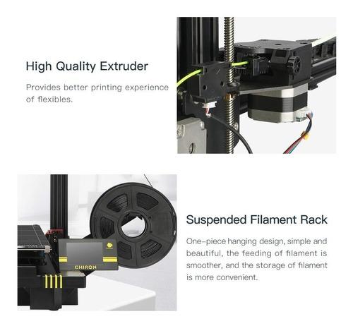 impresora 3d anycubic chiron auto leveling 400x400x450 mm