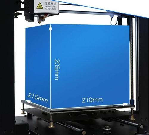 impresora 3d anycubic mega i3 - pre armada - tactil - smart
