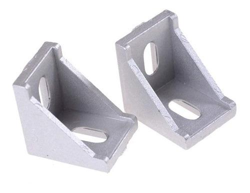 impresora 3d cnc angulo en aluminio para perfil vslot etc..