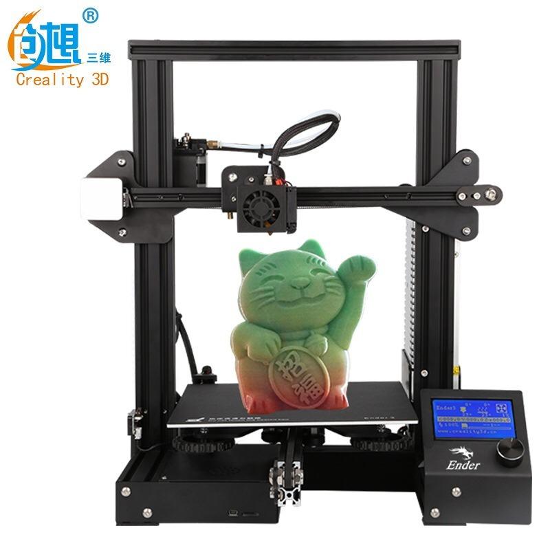 Impresora 3d Creality Ender 3 2019 Nuevo Firmware