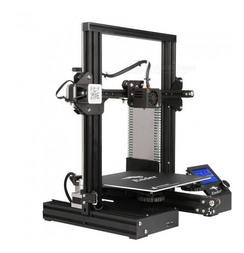 impresora 3d creality ender 3 full metal 2019 mk9 - 2gtech