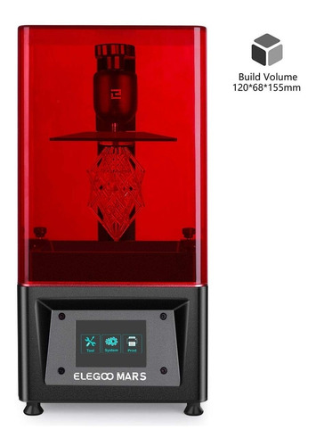 impresora 3d elegoo mars + 500g de resina + modelos premium