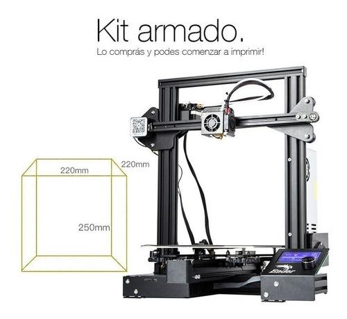 impresora 3d --  ender 3 pro 10/10