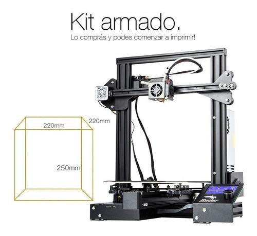 impresora 3d ender 3 pro preventa creality armada garantia