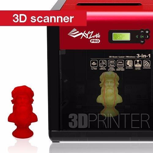 Impresora 3d escaner 3d y laser da vinci pro 3en1 a for Impresora 3d laser