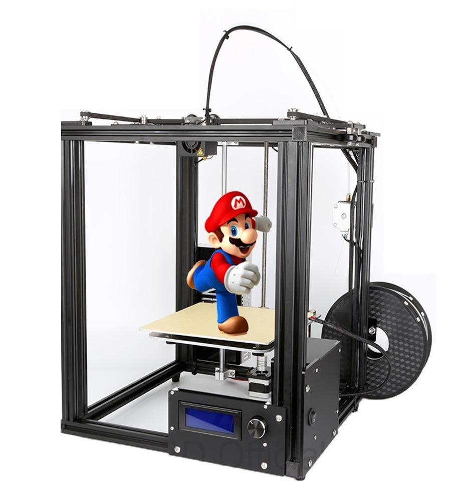Impresora 3d laser cnc quad end autonivel 5 rollos 2018 for Videos de impresoras 3d