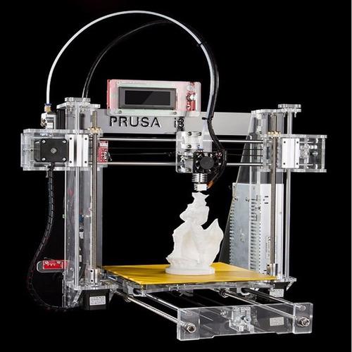 impresora 3d prusa i3 ,kit de ensamblaje+2 carretes de pla