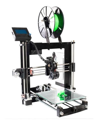impresora 3d prusa i3 plus acero - lista p/usar - en stock!
