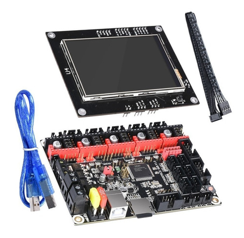 impresora 3d tarjeta de control skr 1.3 + pantalla tactil tf