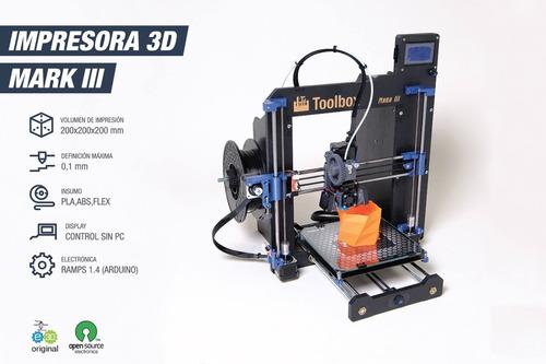 impresora 3d toolbox mark3
