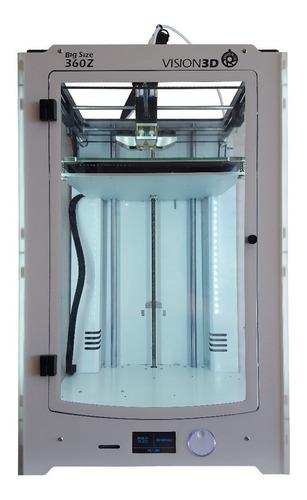 impresora 3d vision3d 360z dos extrusores 22 x 22 x 36 cm