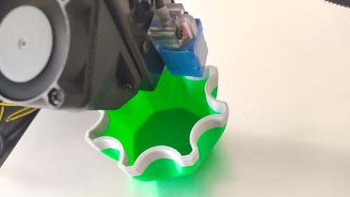 impresora 3d zonestar 3 colores