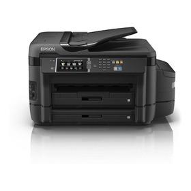 Impresora A Color Multifunción Epson Ecotank L1455 Con Wifi 220v Negra