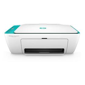 Impresora A Color Multifunción Hp Deskjet Ink Advantage 2675 Con Wifi 100v/240v Blanca