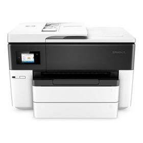 Impresora A Color Multifunción Hp Officejet 7740 Con Wifi 110v/220v Blanca Y Negra
