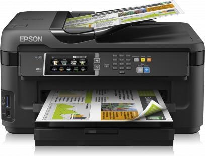 impresora a3 epson wf 7710 7610 tinta continua wifi duplex