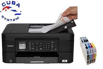 Impresora Brother Mfc J460 480 485dw Con Sistema De Tinta