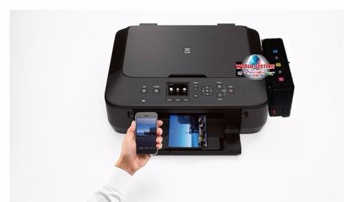 impresora canon mg 5710 con sistema de tinta . wifi -duplex