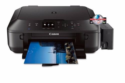 impresora canon mg 6821 con sistema de tinta . wifi -duplex