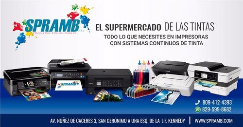 impresora canon mg2410 + sistema continuo de tinta