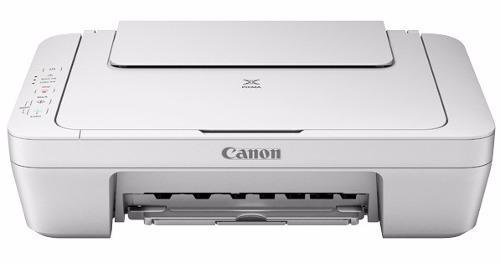 impresora canon multifuncional, mg 2410 blanco