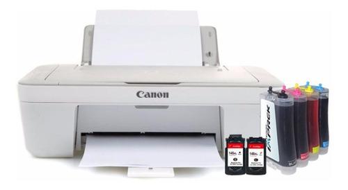 impresora canon multifuncional sistema continuo instalado