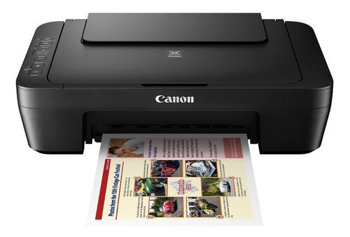 impresora canon pixma mg3010 multifuncion copia escanea wifi