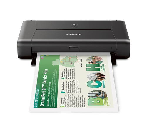 impresora chorro tinta canon pixma ip110 wireless mobile