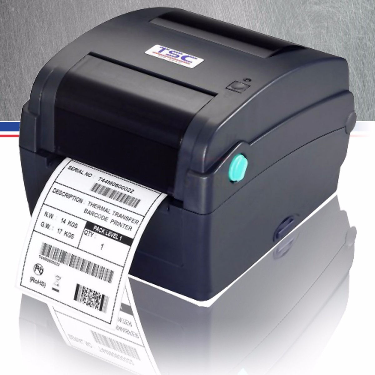 Impresora Codigo De Barras Tsc Ttp244ce Tlp2844 Gc420