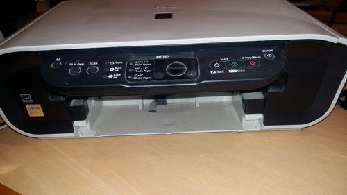 impresora color canon pixma mp140 con scanner