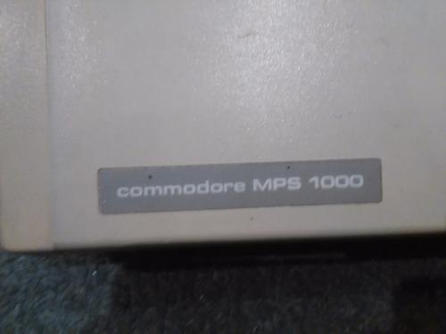 impresora comodore mps 1000