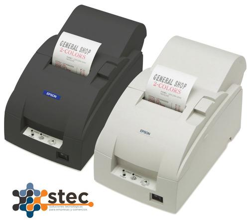 impresora controlador fiscal epson tm u220 afii + 10 rollos