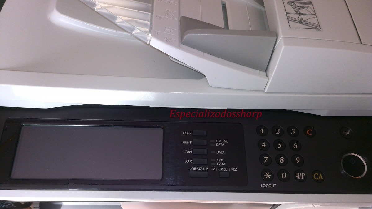 Impresora Copiadora Sharp Mxm260 Toner Escaner Chip Copias