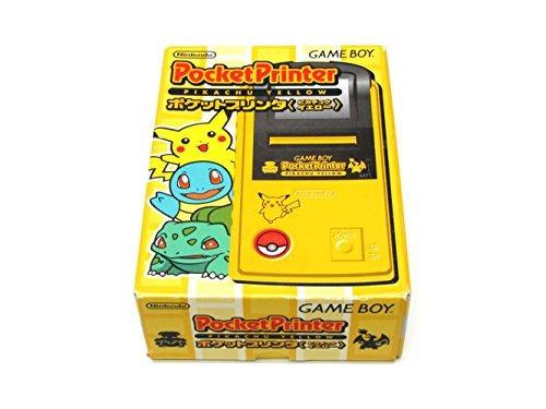 impresora de bolsillo nintendo game boy pokemon pikachu