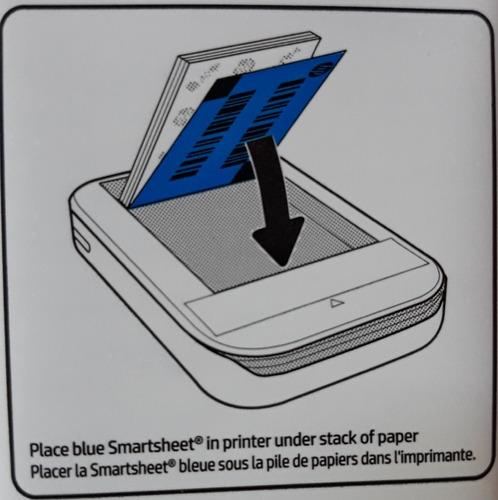impresora de bolsillo portátil polaroid pogo