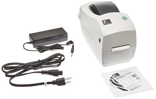 impresora de etiquetas térmica zebra tlp 2824 plus monochrom