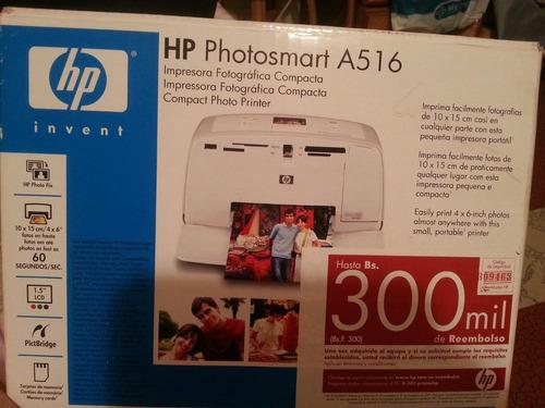 impresora de fotografia hp modelo a516