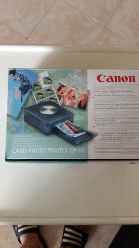 impresora de fotos canon cp10