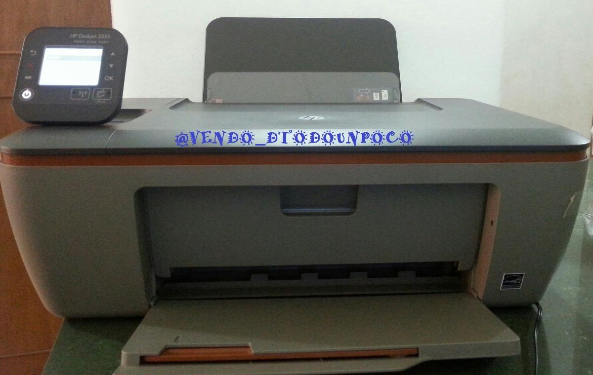 Impresora De Inyección De Tinta De Color Inalámbrica Hp 3510 - Bs ...