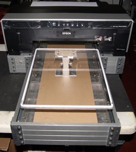 impresora de playeras dtg r2000 /p400 cama plana