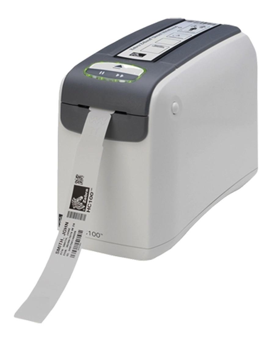 f3eec5d6df8e Impresora De Pulseras Autoadhesivas Zebra Hc100 300dpi Usb