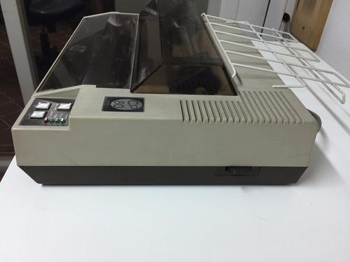 impresora de puntos shinwa cp-80. origen: japón. matricial